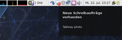 Notification bei neuen Jobangeboten
